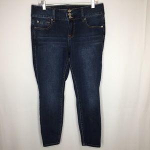 Torrid 12 skinny cropped jegging Jeans